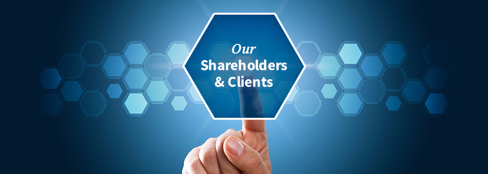 Our Shareholders & Clients